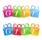 Gift Banners Stock Photo