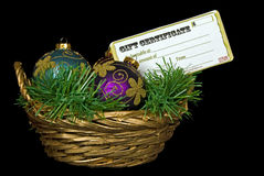 Gift Basket Royalty Free Stock Image