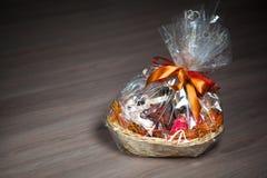 Gift basket Stock Image