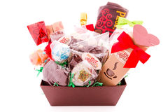 Free Gift Basket Royalty Free Stock Photo - 42107495