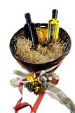 Gift basket royalty free stock photography