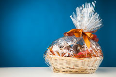 Gift basket Royalty Free Stock Photo