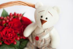 Gift Basket Stock Images