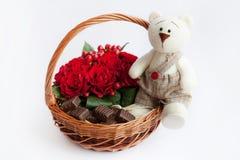 Gift Basket Royalty Free Stock Photos