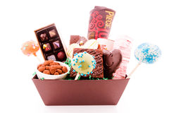 Gift basket Stock Photo