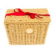 Gift basket Stock Photography