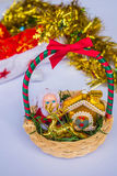 Gift baskets Stock Photos