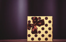 Gift on birthday Royalty Free Stock Photography