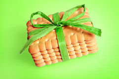 Gift biscuits Royalty Free Stock Images