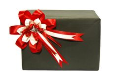 Gift black box Stock Images
