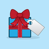 Gift Blank Tag Stock Photos