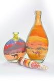 Gift bottles. Stock Photo