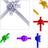 Gift bow. Vector illustration of gift bow Royalty Free Stock Photo