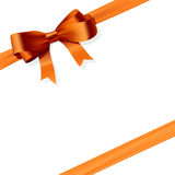 Gift bow. The illustration of a gift bow Royalty Free Stock Photography