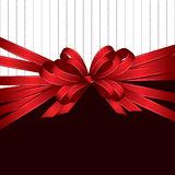 Gift bow background Royalty Free Stock Photo