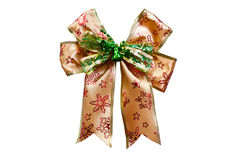 Gift bow with clipping path Stock Photos