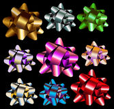 Gift bow illustrations Stock Photography
