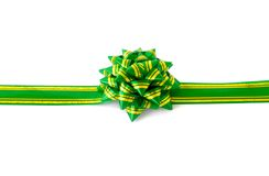 Gift with bow and ribbon Stock Photos