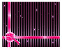 Gift bow and ribbon. vector illustration