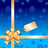 Gift bow ribbon Stock Image