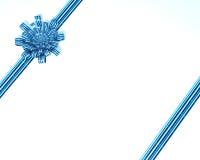 Gift bow and ribbon Royalty Free Stock Image