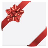 Gift bow and ribbons Royalty Free Stock Photography