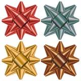 Gift bow selection Stock Photos