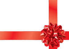 Gift Bow (vector) Royalty Free Stock Photo