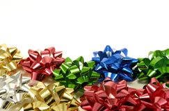 Gift Bows Stock Images