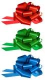 Gift bows royalty free stock photos