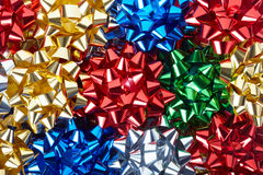 Gift bows background royalty free stock images