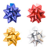 Gift bows isolated on white Royalty Free Stock Photography