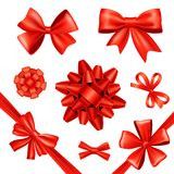 Gift Bows And Ribbons Royalty Free Stock Images