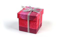 Gift box. Red gift box and Christmas Ornament Stock Photography