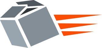 Gift box. Illustration of  gift box isolated on white background Stock Photo