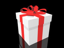 Gift box. (see more in my portfolio Royalty Free Stock Image