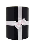 Gift box. Isolated on white background royalty free stock photos