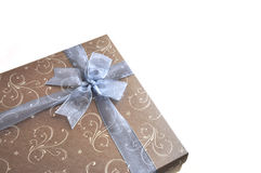 Gift box. The isolated gift box for the special occasion Royalty Free Stock Photos