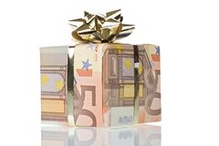 Gift box. Money gift boxes isolated on a white background Stock Photo