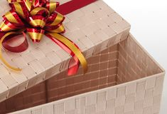 Gift box. Stock Images