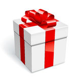 Gift box royalty free illustration