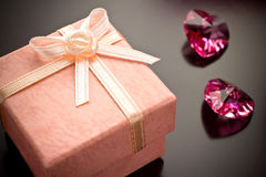 Gift box. Stock Photo