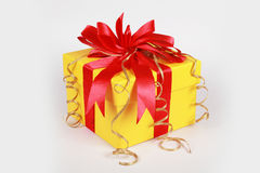 Gift box . Royalty Free Stock Image