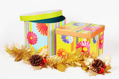 Gift box . Royalty Free Stock Images