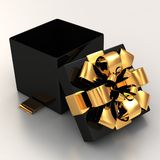 Gift box. 3d illustration Gift box  on white background Stock Photo