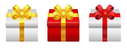 Gift box. This is gift box vector Royalty Free Stock Image