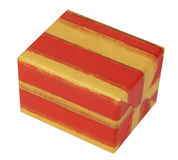 Gift Box. Gisft box isolated against a white background with clipping path included in the file Stock Image