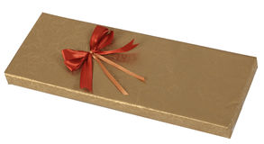 Gift Box. Gisft box isolated against a white background with clipping path included in the file Royalty Free Stock Photo
