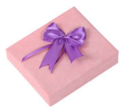 Gift Box. Gisft box isolated against a white background with clipping path included in the file Stock Photos