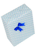 Gift Box. Gisft box isolated against a white background with clipping path included in the file Royalty Free Stock Photography